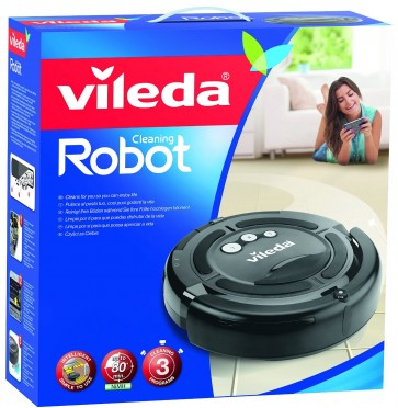 Vileda Cleaning Robot  Grey