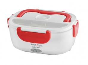 Scaldavivande portatile - Lunch box - ROSSO