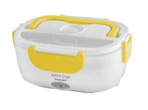 Scaldavivande portatile - Lunch box - GIALLO