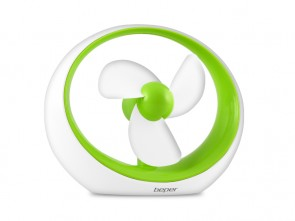 "Ventilatore USB "" MIRO""  VERDE -  DISPLAY 20 mix"