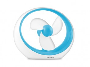 "Ventilatore USB "" MIRO""  AZZURRO -  DISPLAY 20 mix"