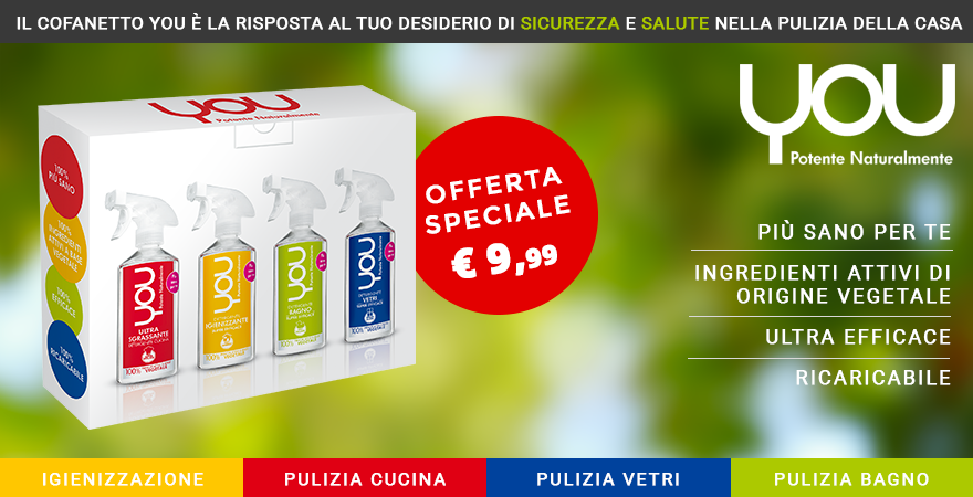 Offerta speciale cofanetto You!